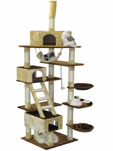Go Pet Club Cat Tree, 108-Inch