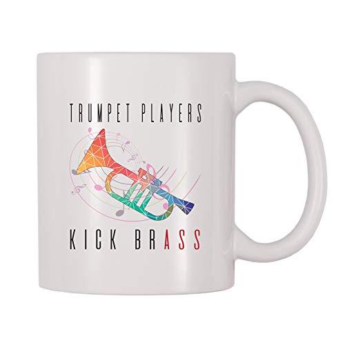 4 All Times Trumpet Players Kick Brass Coffee Mug (11 oz)