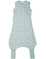 Tommee Tippee Babysovsäck med fötter, The Original Grobag Quile, mjukt tyg med hög bambuhalt, 6–18, 1,0 tog, jorden grön, flerfärgad 351 g
