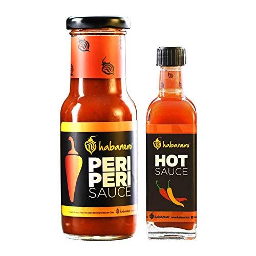 Habanero Peri Peri Sauce & Hot Sauce