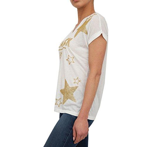T-shirt PATRIZIA PEPE Donna 8J0547 A2LA&W146 Bianco EG0968J0547-A2LAW146_2