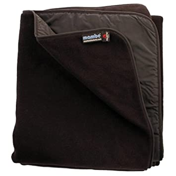 Mambe Large Essential 100 Waterproof Windproof Stadium, Camping, Picnic and Outdoor Blanket Made in The USA