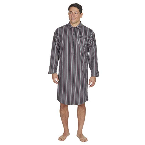 Mens Nightshirts Flannel For Sale Only 2 Left At 65