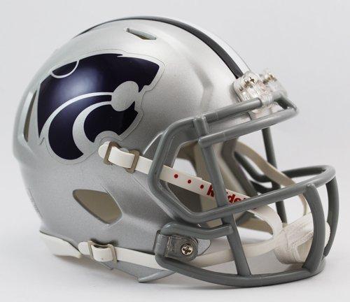 Kansas State Wildcats Speed Mini Helmet--(Package of 2)