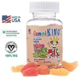 GUMMIKING Calcium Plus Vitamin D Formula for Bone Health and Development for Kids - Set of 30