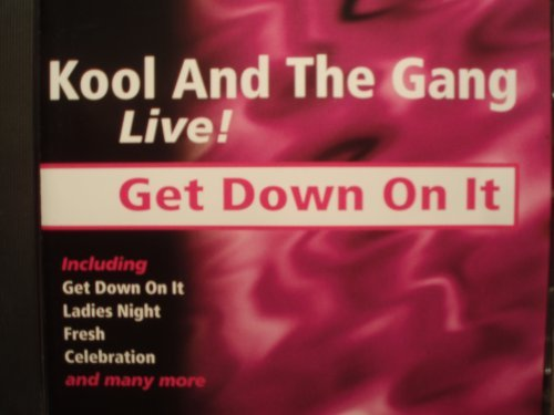 Get down on it live!'' [UK Import]