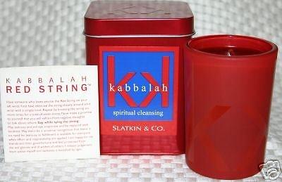 Slatkin & Co. Spiritual Cleansing Kabbalah Candle