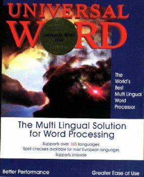 Word Processor Universal Word 2005 ML-1 Arabic Languages: Arabic, Azeri-Arabic, English, Farsi, Malay-Jawi, Pashto, Urdu, Transliteration, International Phonetic. by Aramedia