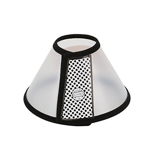 - Vivifying Recovery Pet Cone, 8.1 Inches Lightweight Plastic Elizabethan Collar for Cats, Mini Dogs and Rabbits (Black)