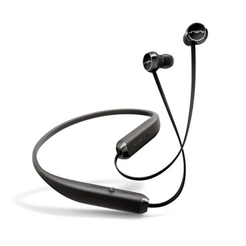 SOL REPUBLIC Shadow Wireless In-Ear Headphones-Black/Silver