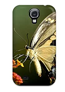 Galaxy S4 Case Cover - Slim Fit Tpu Protector Shock Absorbent Case (nature For Computers ) by icecream design