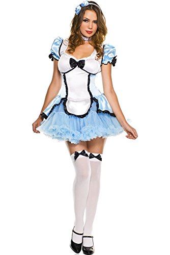 Charming Alice Adult Costume (Charming Alice/Music Legs 70316 XS)