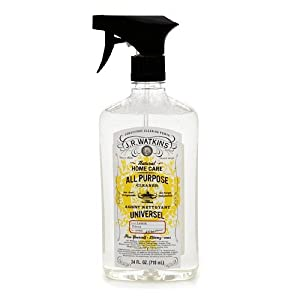 4 x J.R. Watkins All Purpose Cleaner, Lemon 24 fl oz (710 ml)