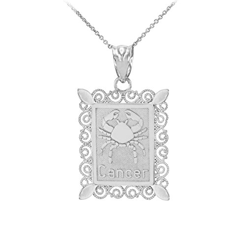 10k White Gold Filigree - 4