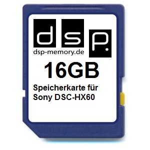 TALLA 16 GB. DSP SDHC FOR SONY DSC-HX60 -