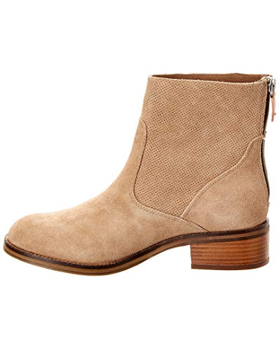 Shaft Gentle with Textured Boot Ankle Camel Unlined Women's Souls Bootie Parker Fw4xw07q