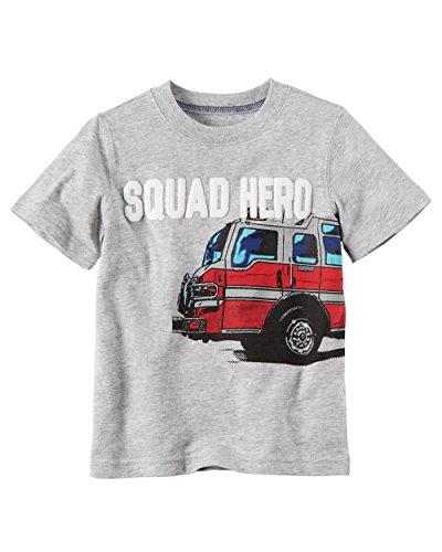 Fire Engine Trunk (Carter's Little Boys Short Sleeve