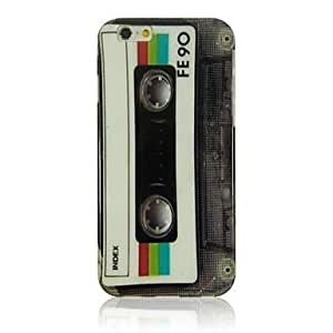 Rayshop - Retro Tape Pattern TPU Soft Case for iPhone 6