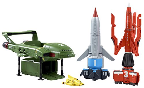 Thunderbirds Vehicles Super Set, Multicolored