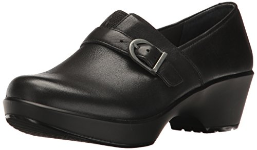 Jane Clog Burnished Dansko Nappa Womens Black SFxAq