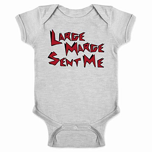 Pop Threads Large Marge Sent Me Funny Retro Gray 6M Infant Bodysuit