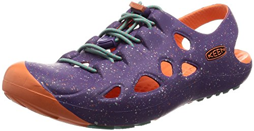 KEEN Rio Infant Boys Fisherman Sandals, Purple Heart/Fusion Coral, 4 UK