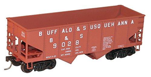 HO KIT USRA 55-Ton Twin Hopper, B&S