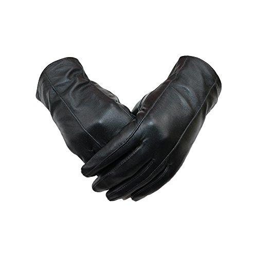 【First Pure】NEW レザー 羊革 皮 ナッパ革 手袋 レディース 冬 保温 防寒 本皮手袋 レザー手袋 シンプル 本革 ラムレザー 5色 TPL-1701