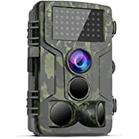 Trail Game Camera, Scouting Camera - 1080P FHD IP65...