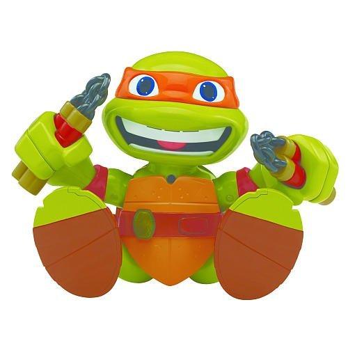 Teenage Mutant Ninja Turtles Talk to Me Michelangelo Figure (Ninja Turtles Who Is Who)