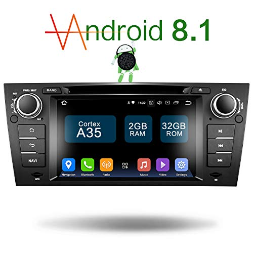 Upgrade Android 8.1 32G ROM 7 Inch TFT LCD 1-Din Online Navigating Car Stereo Auto Radio Mirrorlink WiFi GPS for BMW E90