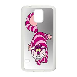 JenneySt Phone CaseAlice and Cheshire Cat Pattern For Samsung Galaxy S5 -CASE-2