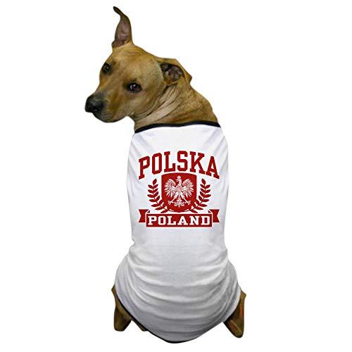 - CafePress Polska Poland Dog T Shirt Dog T-Shirt, Pet Clothing, Funny Dog Costume