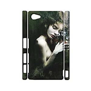 Durable 3D Hard Plastic Cover Fit Sony Xperia Z5 Compact,Visual Cute Underwater Photographs Printed Phone Case Snap on Sony Xperia Z5 Compact