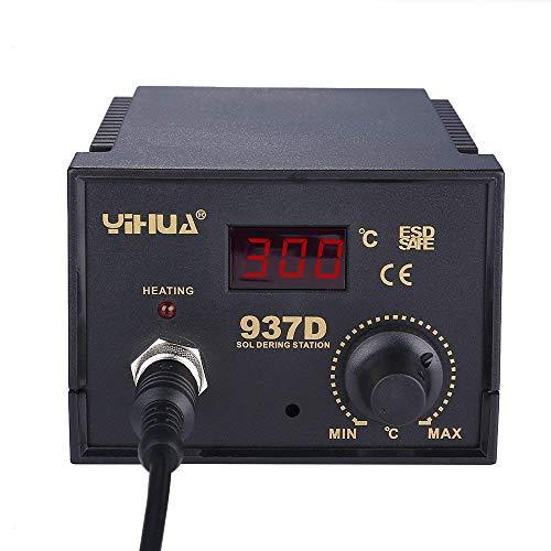 Yihua estacion de soldadura digital SMD Kit del Soldador Eléctrico 937D: Amazon.es: Bricolaje y herramientas