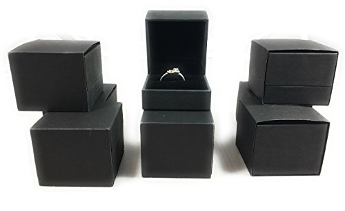 Ring Box Set Wholesale Lot Of 45pcs For Engagement, Wedding, Gift Box Set (3 Ring Binder Box For Negative)