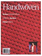 Handwoven Magazine, January/February 1995 by…