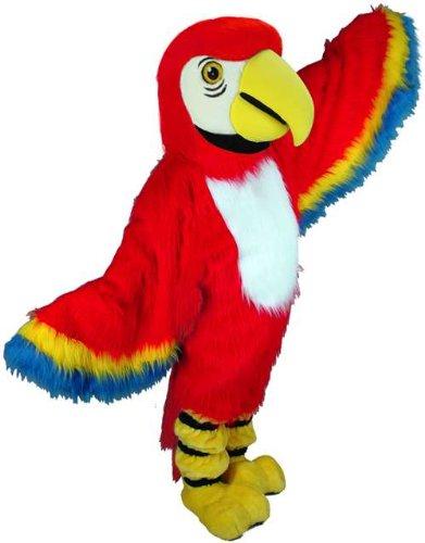 Red Macaw Lightweight Mascot Costume
