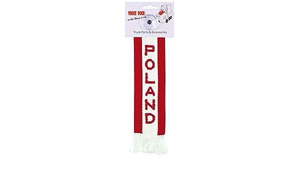 Amazon.es: TRUCK DUCK Camiones Auto Mini - Polonia Poland Mini - Banderín Bandera ventosa Espejo Decoración