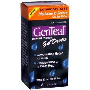 GenTeal GEL DROPS modérée à sévère 25 ML