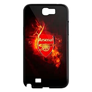 Arsenal Football Club Galaxy Note 2 Case Hard Plastic Arsenal FC Soccer Football SamSung Galaxy Note 2 N7100 Cover HD Image Snap ON