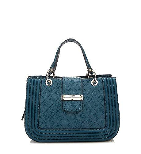 Tasche Unique blau Tote Guess Taille Blau Damen EwHpqB6