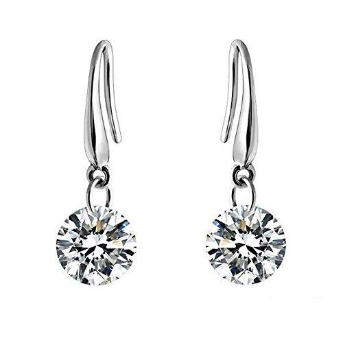sephla-14-k-white-gold-plated-85-mm-naked-drill-swarovski-element-crystal-earrings-for-women-white
