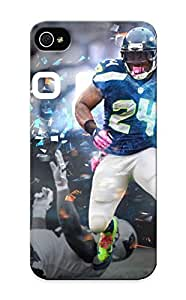 Crooningrose Fashion Protective Seale Seahawks Football Nfl Case Cover For Iphone 5/5s