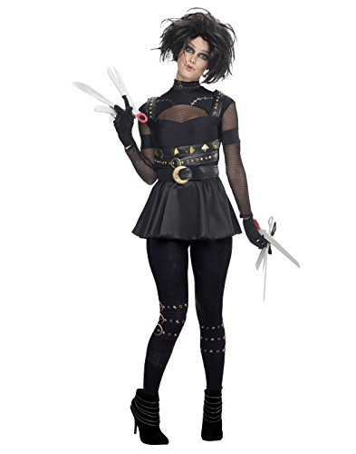 Rubie's Costume Co Women's Edward Scissorhands Female Scissorhands Costume, Multi, (Edward Scissor Hand Costume)