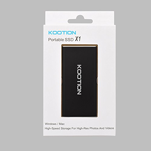 KOOTION Portable SSD 60GB External USB 3.0 Solid State Drive, Black by KOOTION (Image #8)
