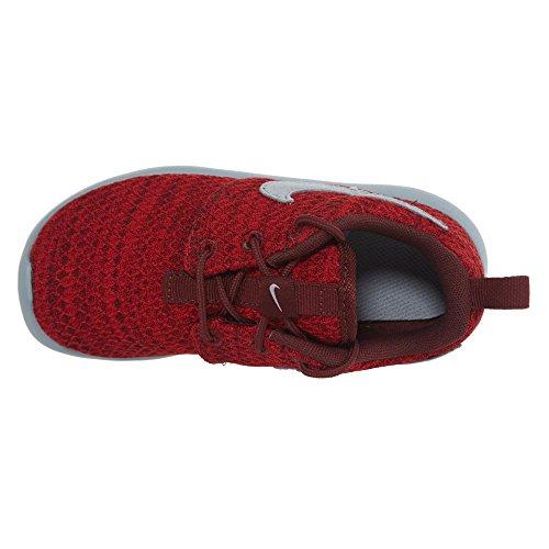 Nike Kids Roshe One Scarpa Da Corsa Dark Team Red / Wolf Grey