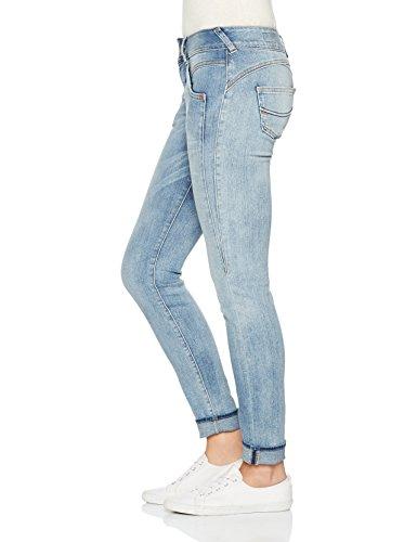 Femme Cloudy Ajuste Herrlicher Slim Jean Blau Coupe 029 Gila qXp0wf