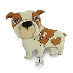 Allen Designs `Spike the Dog` Pendulum Wall Clock