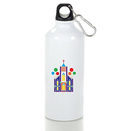 Christ Church Cool Aluminum Sports Water Bottle - 400/500/600ML 500ml (Sigg Water Bottle Cleaner)